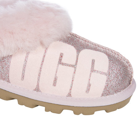 2b67536c53b Women's Coquette Sparkle Slippers - Seashell Pink