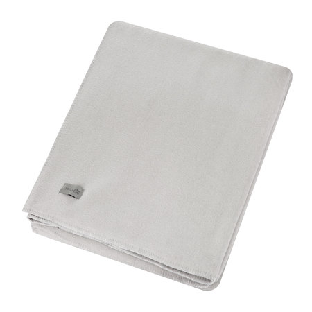 Zoeppritz since 1828 - Large Soft Fleece Blanket - Light Grey