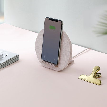 Native Union - Dock Wireless Charger - Rose