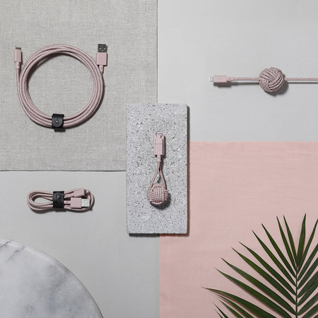 Native Union - Lightning Night Cable - Rose