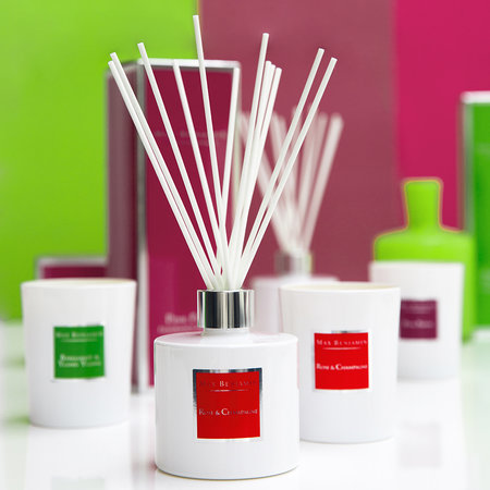 Max Benjamin - Classic Collection Reed Diffuser - 150ml - Rose & Champagne