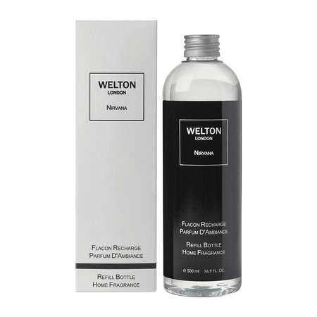 Welton London - Reed Diffuser Refill with Sticks - Nirvana - 500ml