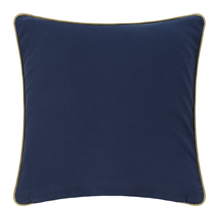 A by Amara - Coral Cushion - Blue - 45x45cm