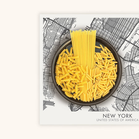 BEAUMONT - Week-end Vinyl Placemat - New York