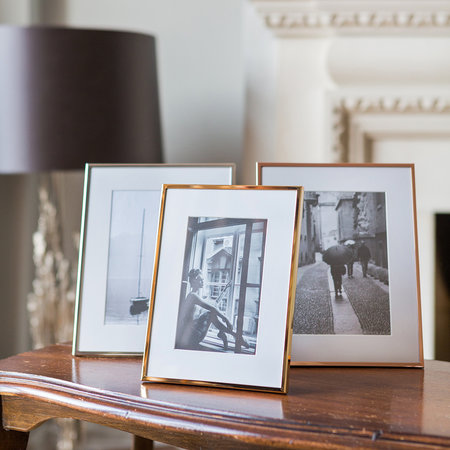 """Essentials - Copper Plated Steel Photo Frame - 5x7"""""""