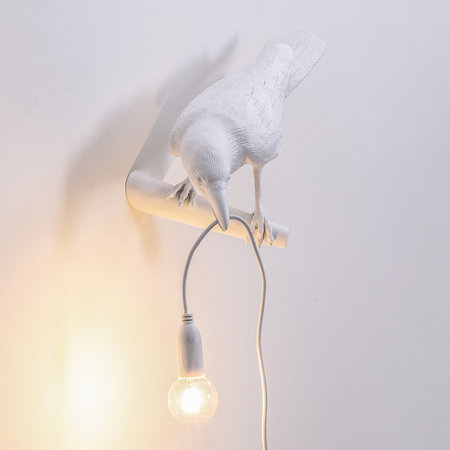 Seletti - Bird Wall Lamp - Looking - White