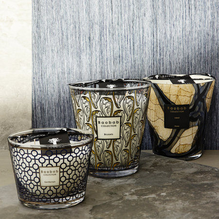 Baobab Collection - Brussels Art Nouveau Scented Candle - Limited Edition - 35cm