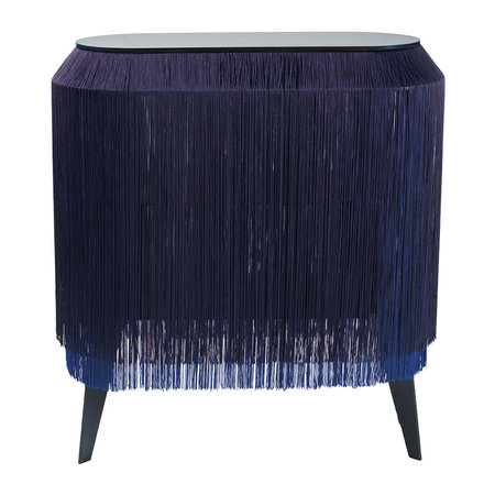 ibride - Baby Alpaga Side Table - Electric Blue