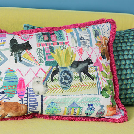 Bluebellgray - Coussin Réversible Chats - 61x45cm