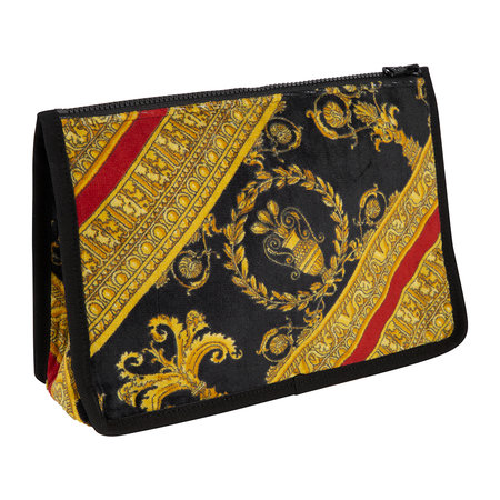 Versace Home - I Love Baroque Wash Bag - Black/Red/Gold