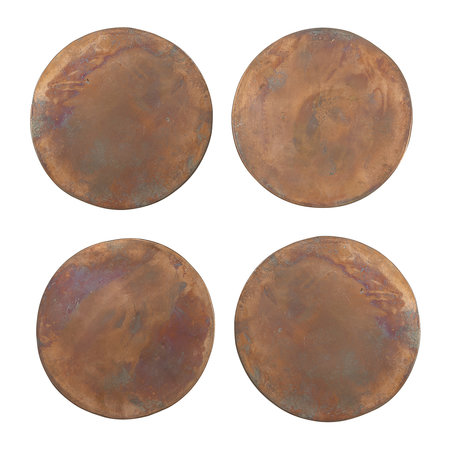 Sir/Madam - Copper Coasters - Set of 4