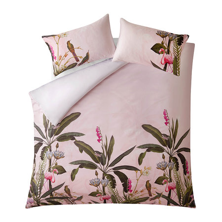 Ted Baker - Pistachio Quilt Cover - Pink - King
