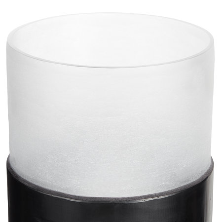 Tom Dixon - Carved Vase - Black - Medium