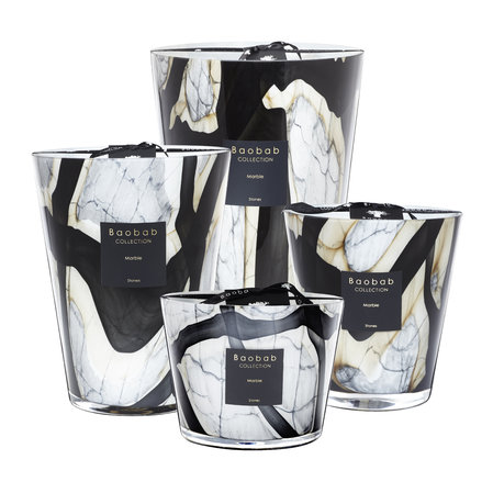 Baobab Collection - Stones Marble Scented Candle - 35cm