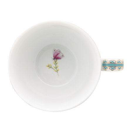 Pip Studio - Blushing Birds Cappuccino Cup & Saucer - Blue