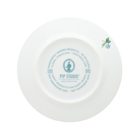 Pip Studio - Blushing Birds Petit Four Plate - White