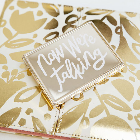 kate spade new york - All That Glistens 'Now We're Talking' Card Holder