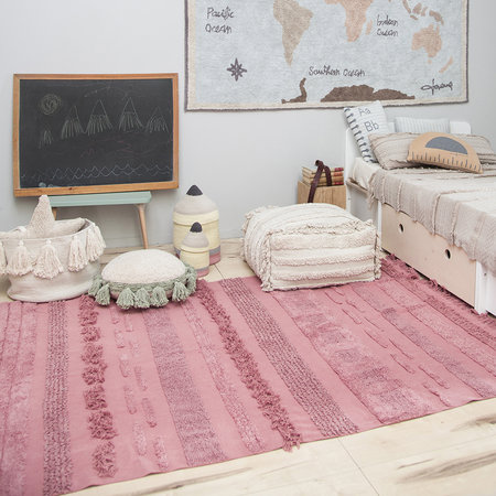 Lorena Canals - Tapis Lavable Air - 140x200cm - Rose Canyon