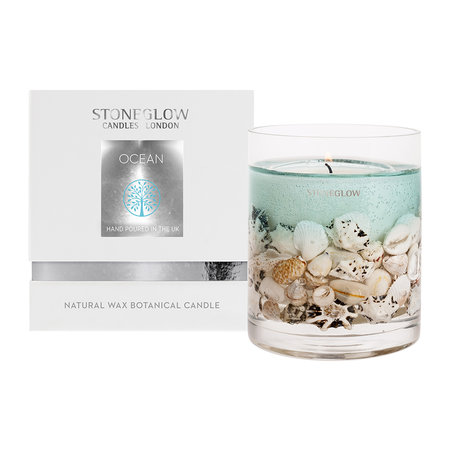 Stoneglow - Nature's Gift Gel Candle - Ocean