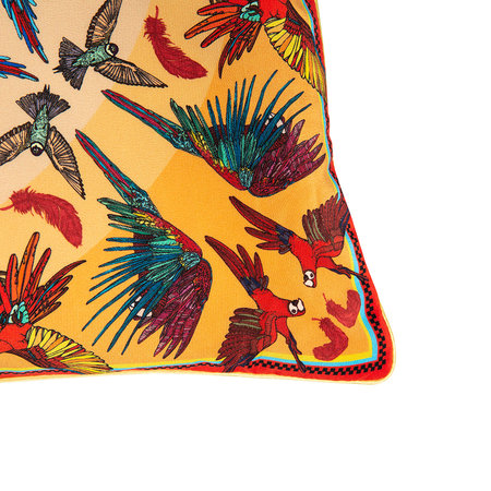 Silken Favours - Breakbeak Pillow