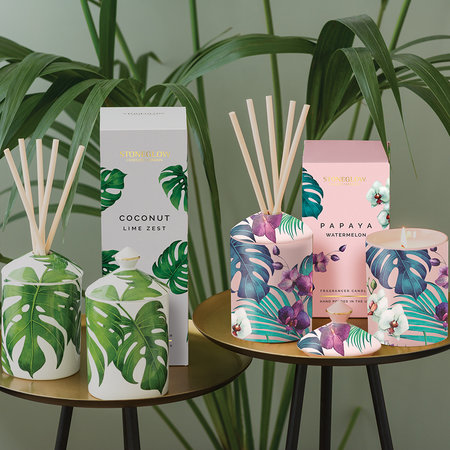 Stoneglow - Urban Botanics Reed Diffuser - 200ml - Coconut & Lime Zest