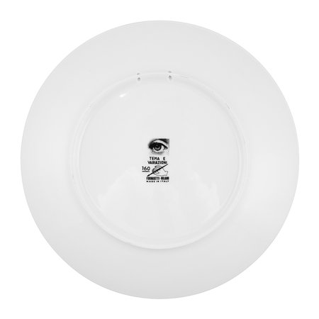 Fornasetti - Tema e Variazioni Wall Plate - No. 160 - Black and White
