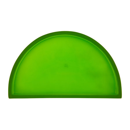 Tina Frey Designs - Demi Lune Plate - Green - Large