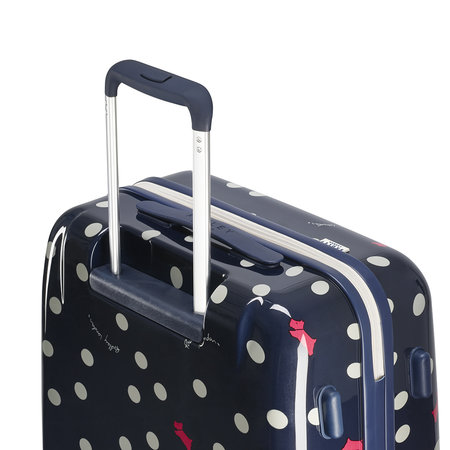 Radley - Vintage Dog Dot Suitcase - Ink - Medium