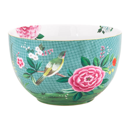 Pip Studio - Blushing Birds Serving Bowl - Blue