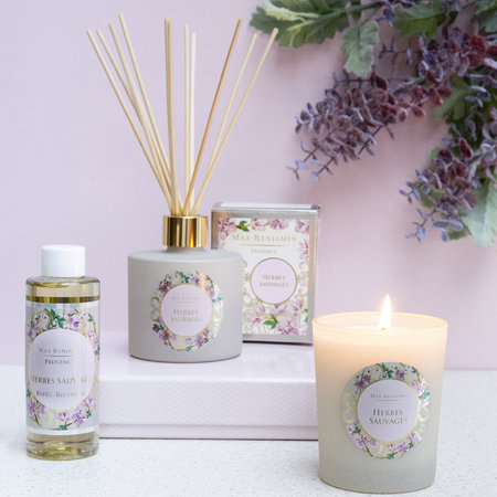 Max Benjamin - Provence Reed Diffuser Refill - 150ml - Herbes Sauvages