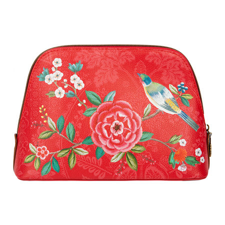 Pip Studio - Good Morning Triangle Cosmetic Bag - Red - Medium