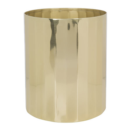 A by AMARA - Antique Gold Waste Bin