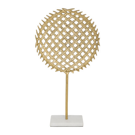 A by AMARA - Racket Ornament - Gold/Marble