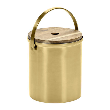 Serax - Brushed Steel Gold Ice Bucket - Small