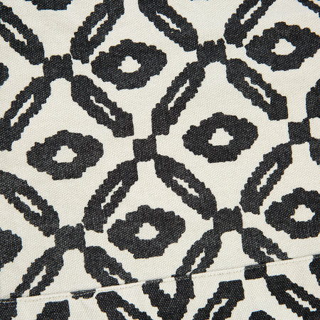 Day Birger Et Mikkelsen - Diamond Print Blanket - Black/White - 140x140cm