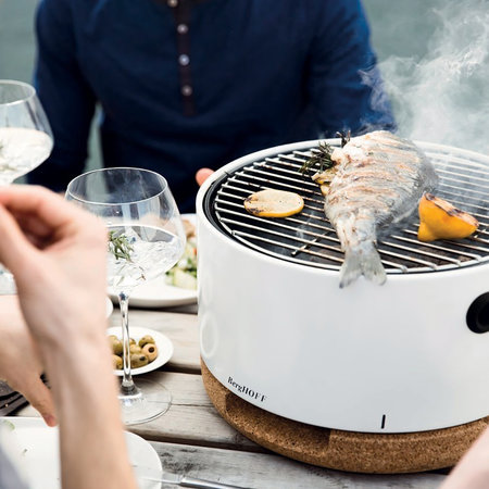 BergHOFF - Portable Table Top BBQ - White