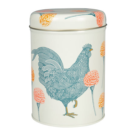 Thornback & Peel - Blackbird, Rabbit & Chicken Set of 3 Round Tins