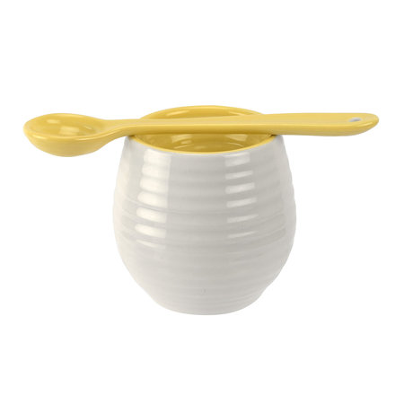 Sophie Conran - Egg Cup & Spoon - Sunshine Yellow