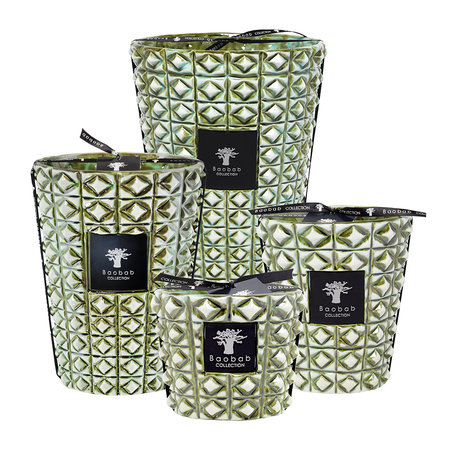 Baobab Collection - Ceramica Outdoor Scented Candle - Limited Edition - Verdor - 24cm