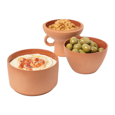 DOIY - Amforéa Terracotta Snack Pots - Set of 3