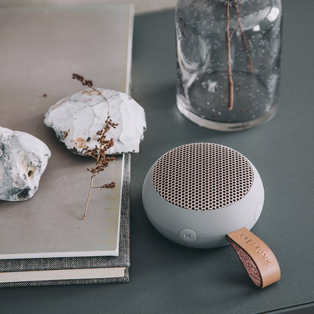KREAFUNK - aGo Bluetooth Speaker - Cool Grey