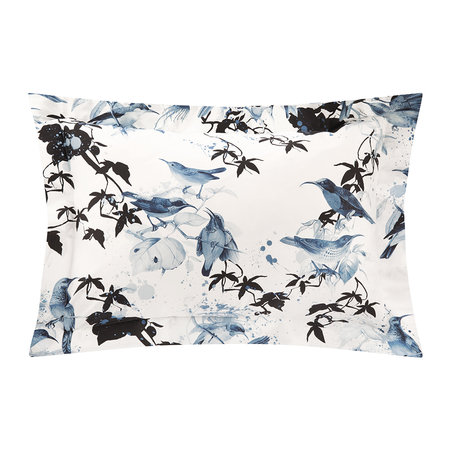 Roberto Cavalli - Bird Ramage Bed Set - Blue - King