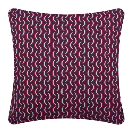 Fermob - Bananes Outdoor Pillow - 45x45cm - Plum