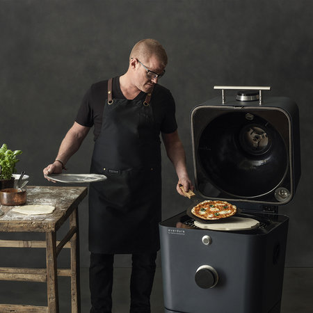 Everdure by Heston Blumenthal - 4K Electric Ignition Outdoor Oven with Cover - Black