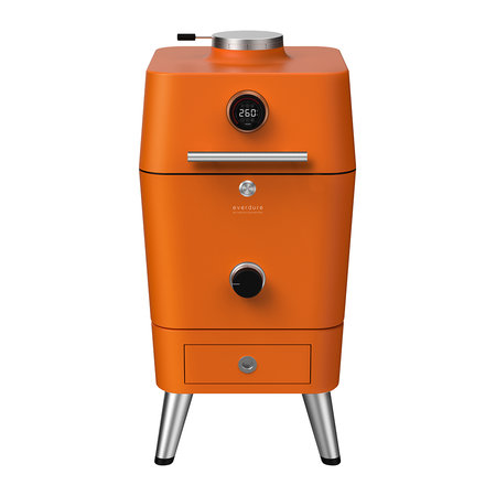 Everdure by Heston Blumenthal - 4K Electric Ignition Outdoor Oven with Cover - Orange