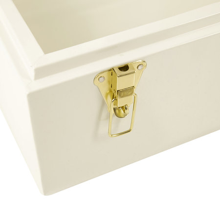 A by AMARA - Metal Trunks - Set of 2 - White