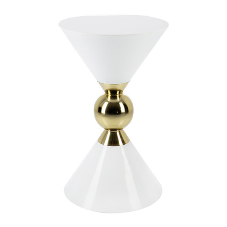 A by AMARA - Hourglass Stool - White