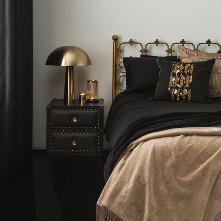 Luxe - Gold Mushroom Table Lamp - Tall