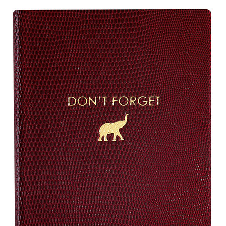 Sloane Stationery - A6 Notebook - 'Don't Forget'