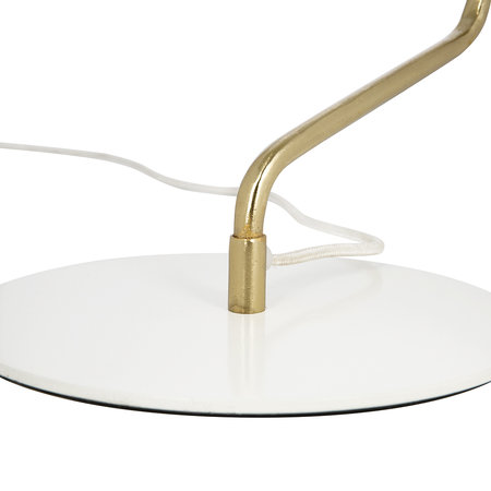 A by Amara - Bell Table Lamp - White